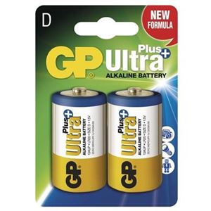 Baterie GP D LR20 Ultra Plus 1,5 V 2 KS